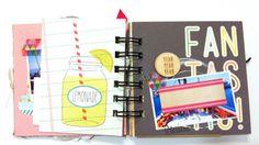 Mad Scrap Project: julio 2015 My Works, Lemonade, Mad, Scrapbook, Projects, Blog, Log Projects, Scrapbooks, Blogging