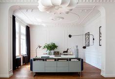Яркая квартира в современной классике в Калининграде | Пуфик - блог о дизайне интерьера