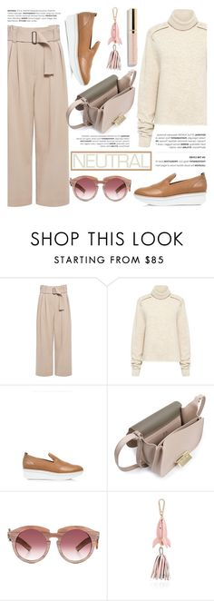 """Cool Neutrals"" by ifchic ❤ liked on Polyvore featuring A.L.C., TIBI, 10 Crosby Derek Lam, ZAC Zac Posen, Grey Ant, Karen Walker, Beautycounter, neutrals, contestentry and ifchic"