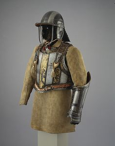 Harquebusier's Armor of Pedro II, King of Portugal, with Buff Coat. ca. 1683