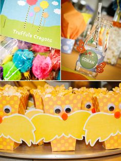 Lorax Inspired Birthday Party