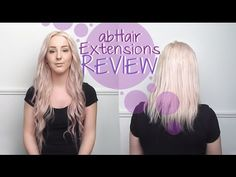 First Impressions: abHair Clip-In Hair Extensions!