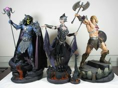 Masters of the Universe (Collectable Statues)