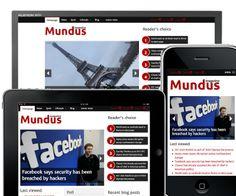 Mundus magazine | Drupal.org Web Design Trends, Web Design Inspiration, Custom Website Design, Portfolio Web Design, Drupal, Compass, Layout Design, Magazine, Free