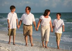 Family Beach Portraits - Siesta Key, Longboat Key, Englewood Beach, Venice Beach FL