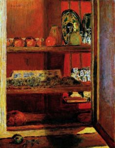 Pierre Bonnard - Cupboard ══════════════════════ BIJOUX DE GABY-FEERIE ☞ http://gabyfeeriefr.tumblr.com/ ✏✏✏✏✏✏✏✏✏✏✏✏✏✏✏✏ ARTS ET PEINTURES - ARTS AND PAINTINGS ☞ https://fr.pinterest.com/JeanfbJf/artistes-peintres-painters/ ══════════════════════