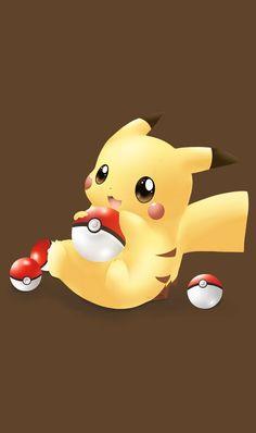 Cool Pokemon Wallpapers, Cute Pokemon Wallpaper, Cute Disney Wallpaper, Cute Cartoon Wallpapers, Pikachu Tattoo, Pikachu Drawing, Pichu Pikachu Raichu, Pikachu Art, Baby Pokemon