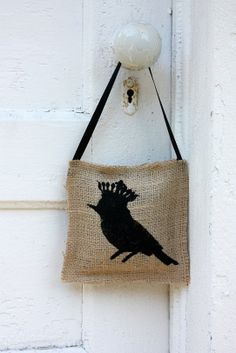 French inspired bird hanger  filled  with by VictorianStation, $14.00