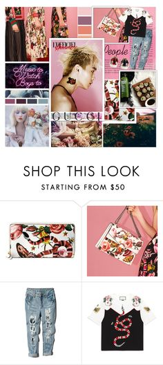 """""""Presenting the Gucci Garden Exclusive Collection: Contest Entry"""" by the-neon-rose on Polyvore featuring Gucci, Stance, gucci and btspolyvorearmy"""