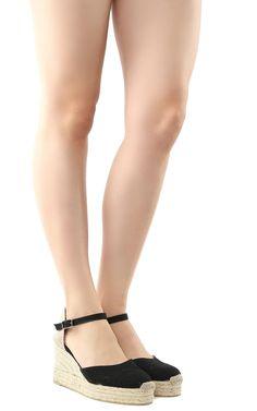 CASTAÑER   Castañer Castañer Carol Canvas Wedge Espadrilles #Shoes #Flat Shoes #CASTAÑER