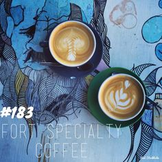 Fort Specialty Coffee. Brisbane. 365 coffees. 365 cafes. 365 days.