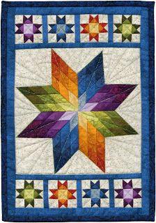 lovley mini star quilt