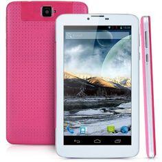 KDX - S5 7 pulgadas Android 4.2 3G phablet con 4GB ROM Pantalla WSVGA MT6572 de doble núcleo de 1GHz WiFi Bluetooth Dual Cameras Funciones para Vender - La Tienda En Online IGOGO.ES