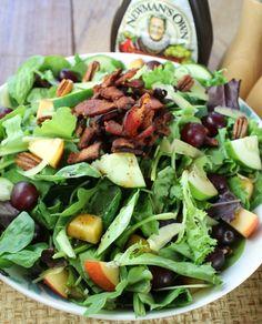Balsamic Bacon and Pecan Summer Salad Recipe on Yummly. @yummly #recipe