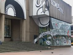 Makeover to Birmingham Central Library by Lucy McLauchlan of Beat 13, 2011