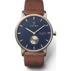 Triwa's Loch Falken Watch is the perfect timepiece for a touch of class, sophistication and ferocity. #watches