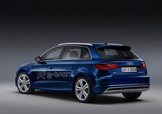 The g-tron is essentially an Audi A3 Sportback powered by natural gas as well as petrol. The headline figures are carbon dioxide emissions of 30g/km in gas-mode and a combined range of over 800 miles. That sort of range is impressive, but comparable to today's clean diesels. Using natural gas alone the g-tron is capable of just under 250 miles, with petrol making up the remaining 500-or-so miles. When running on petrol, carbon dioxide emissions increase to 95g/km, which whilst no means an…