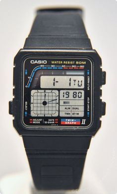 Be it functionality or looks, Casio Watches have it all. Once you discover exactly what you want, some online detective work over the internet will allow you to get the best offers. Retro Watches, Old Watches, Swiss Army Watches, Vintage Watches, Casio Vintage Watch, Casio Watch, Casio Databank, Cheap Watches For Men, Unique Watches