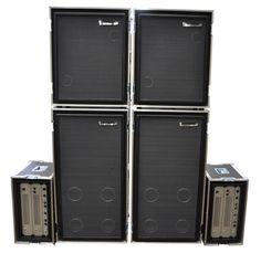 Warwick Hellborg Bass Amp Rig