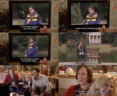 Miranda, series 3 - It Was Panning (with Bo Poraj) British Humor, British Comedy, Miranda Hart, Comedy Tv Shows, Tom Ellis, Tv Land, Tv Quotes, Hilarious, Funny