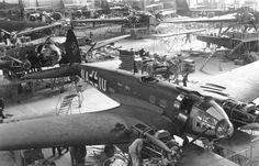 He 111 Production line