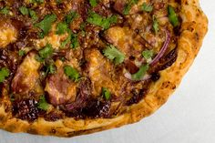 Smoked Duck Pizza with Hoisin..