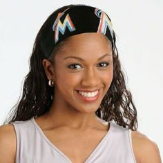 "Florida Marlins Women's FanBand Headband by Little Earth. $9.99. Made from authentic MLB jersey material and featuring an embroidered patch of the Florida Marlins logo, the FandBand headband, manufactured by Pro-FAN-ity by Littlearth, is the must-have accessory for any female fan.   This headband is 2.5"" wide, and its narrow elastic backing makes it one size fits most.  Officially Licensed by MLB."