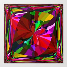 Re-Created ButterfliesXX  #Stretched #Canvas by #Robert #S. #Lee - $85.00
