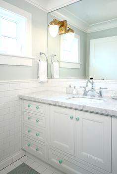 Legacy House - Nursery Bathroom #opaldesigngroup