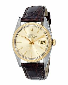 "Cool Stuff We Like Here @ http://CoolPile.com -------  ------- Some of you have to get in on this: Rolex Men's 1980 ""Datejust"" Watch"