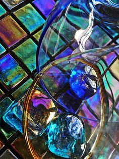 """New artwork for sale! - """"Glass Abstract 690"""" - http://fineartamerica.com/featured/glass-abstract-690-sarah-loft.html… @fineartamerica"""