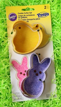Peeps Cookie Cutters for Easter!!