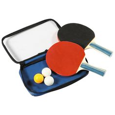 Control Spin Table Tennis 2 Player Racket and Ball Set