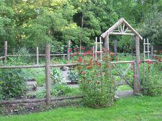 Vegetable Garden Fence Ideas Productive And Beautiful Vegetable Garden