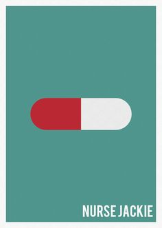 Nurse Jackie (2009–2015) ~ Minimal TV Series Poster by Marisa Passos #amusementphile