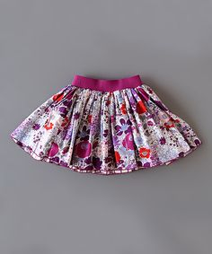 Loving all these reversible skirts - Toddler & Girls | zulily