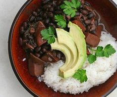 Black bean mole!