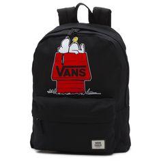 Shop Vans X Peanuts Realm Backpack today at Vans. The official Vans online store. Mode Vintage, Vintage Bags, Vintage Handbags, Vans Backpack, Backpack Bags, Black Backpack, Vintage Backpacks, Cute Backpacks, Vans Mochila
