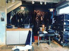 http://chicerman.com  selvedge-socks-shoes:  At work with denim. #nudiejeans #nudiejeans #denim #jeans #menswear #menstyle #denimrepair #berwickstreet #soho #mensfashion #styleinspiration #dandy #casualwear #formalwear #blogger #london #gentonthestreet #SG #StreetGentry #clothing #manatwork #atworkwithdenim by @streetgentry  #menshoes