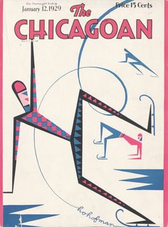 """""""The Season"""" by H.O. Hoffman, cover of The Chicagoan, January 12, 1929"""