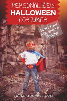 Are you looking for the perfect halloween costume for your little hero? Our kids superhero cape makes the perfect personalized costume for any little boy or girl. This one-of-a-kind bright and colorful personalized superhero cape is hand-sewn and comes double sided with an outside color and contrasting inside color! Kids of all ages will love this handmade cape. Add our customized superhero cape to your classroom, dress-up space, or birthday goodie bag. Start your adventure at superkidcapes.com! Unique Costumes, Scary Costumes, Super Hero Costumes, Costume Ideas, Superhero Costumes For Boys, Superhero Dress Up, The Mask Costume, Best Halloween Costumes Ever, Last Minute Costumes