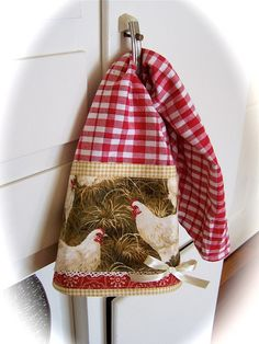 Decorate with chickens, hen, roosters. by Decorative Towels - Created by Cath., via Flickr