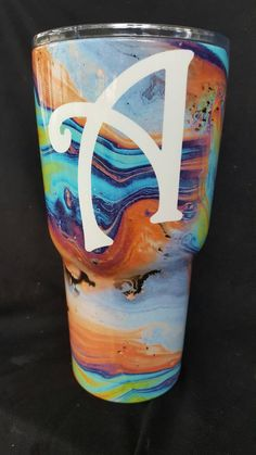 Check out this item in my Etsy shop https://www.etsy.com/listing/473357763/rtic-30oz-tumbler-personalized-oil-print