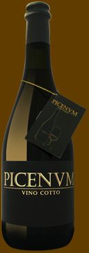 Vino cotto.  Mulled wine, typical dessert wine in Fermo e Macerata, Marche, Italy,