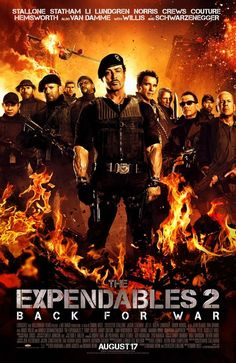 The Expendables 2...Actually REALLY enjoyed this movie!! Now I have to go back and watch the first one!