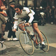 Edouard Louis Joseph Merckx; aka Eddy Merckx. Former Belgian cyclist. One of the most prolific athletes the sport has known.
