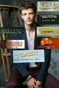 Grant Gustin roles