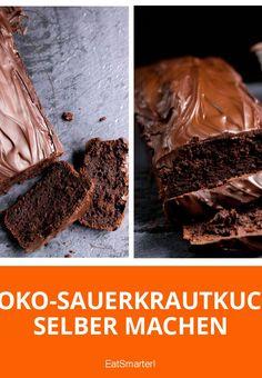 Schoko-Sauerkrautkuchen - das Sauerkraut schmeckt man nicht heraus aber der Kuchen wird dadurch sooooo saftig!