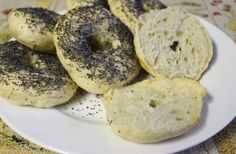 Homemade Bagels Homemade Bagels, Eating Well, Bread, Food, Homemade Dinner Rolls, Meal, Eat Right, Essen, Hoods
