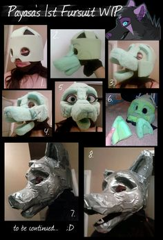 deviantART: More Like Fursuit Feet WIP by *Payasa